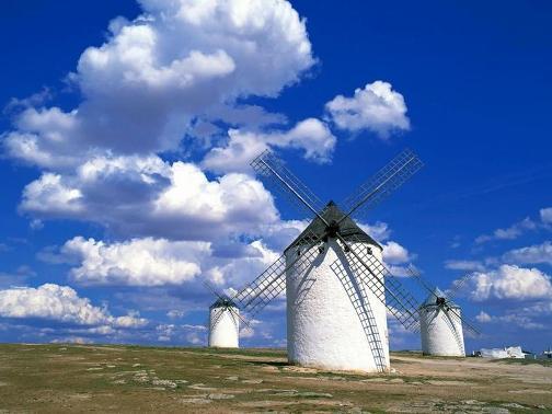 Fotos de paisajes, molinos