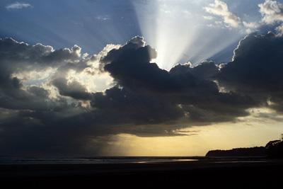 Fotos del cielo: Paseando con Dios