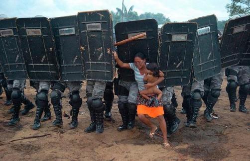 Altercado en Manaos, Brasil