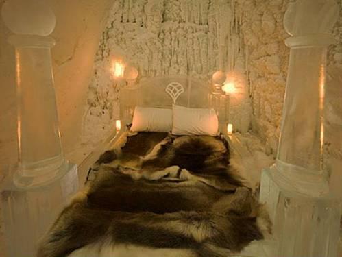Cama en iglu