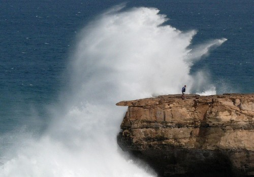 Olas en Fuerteventura