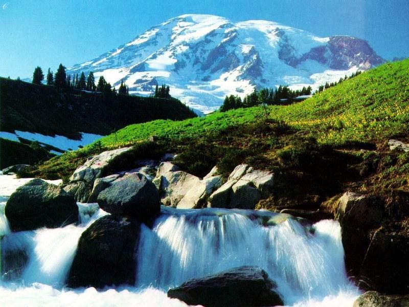 Fotos de cascadas, agua sanadora