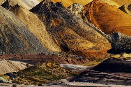 Montañas de colores, paisajes del mundo