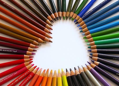 Fotos de lápices de colores