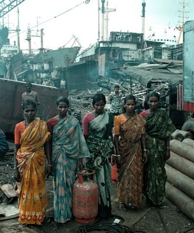 Contaminación en la India