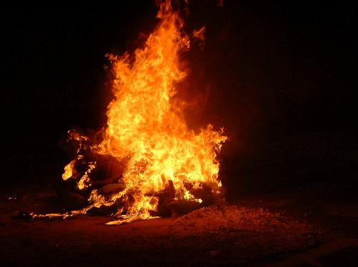 Fotos de fuego, hogueras y velas