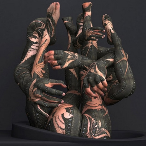Kim Joon y body art