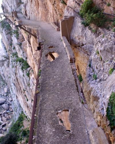 Caminito del Rey en Málaga