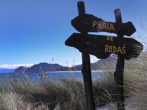 Playa de Rodas en Cies