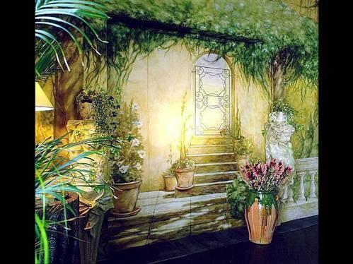 Paredes pintadas a mundos imaginados - Imagenes para paredes ...