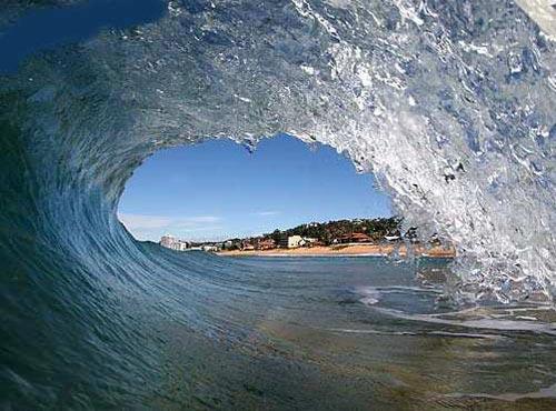 surf y olas
