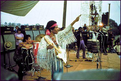 Woodstock 1969 Jimi Hendrix