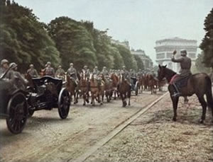 Fotos Historicas: Hitler en Paris