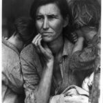 Fotos historicas: La madre migrante, por Dorothy Lange