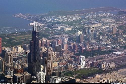 Chicago desde el aire