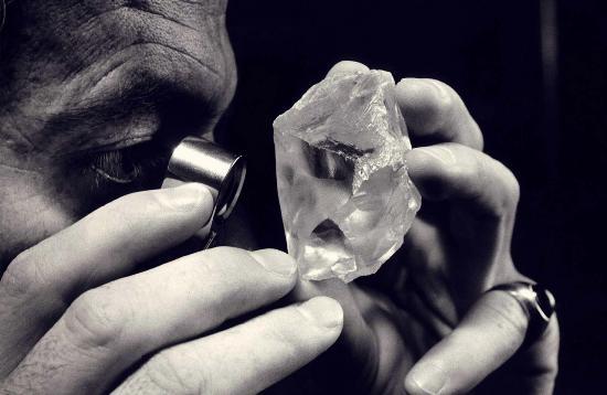 Analizando diamantes