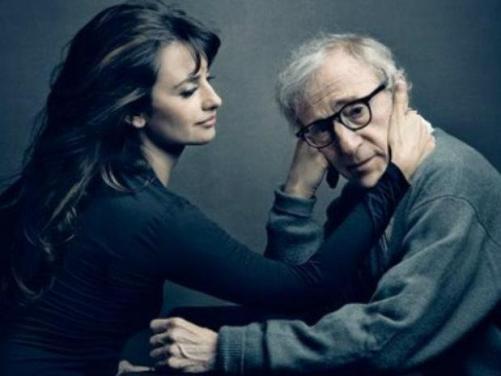 Annie Leibovitz - Woody Allen con Penelope Cruz