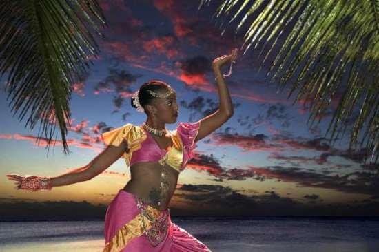Bailarina de Reunion