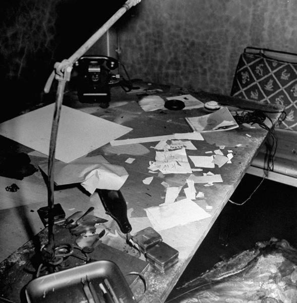 Bunker de Hitler - escritorio d