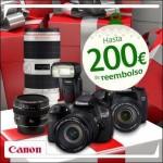 Oferta especial en productos Canon