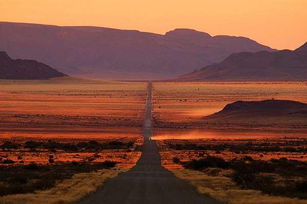 Carretera en el desierto