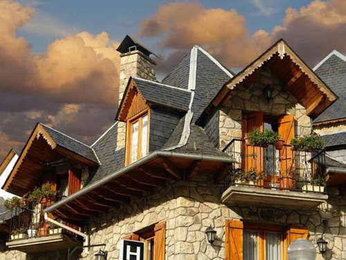 Casas en el Valle de Arán