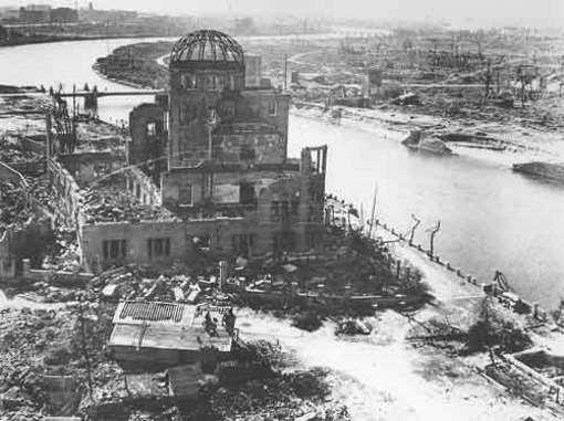 Ciudad bajo las bombas