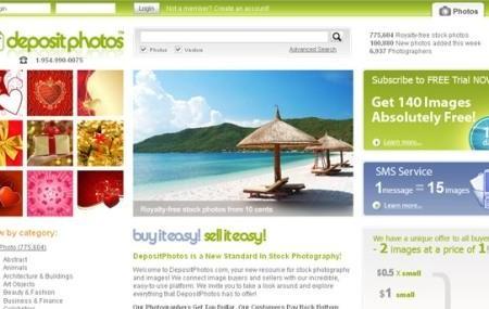 Depositphotos: para comprar y vender fotos