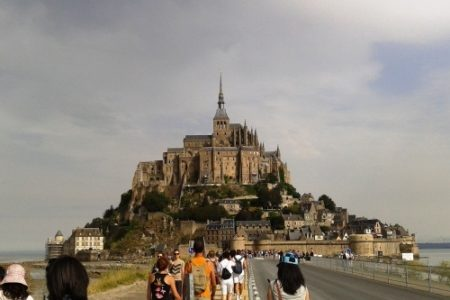 Mont Saint-Michel, brillo en Normandía