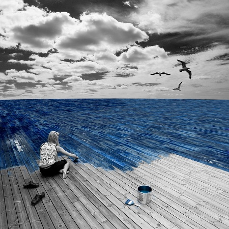 Erik Johansson Work at sea