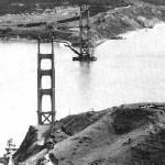 Fotos históricas: la construcción del Golden Gate