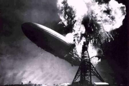 Fotos Historicas: el Hindenburg, tragedia en el cielo