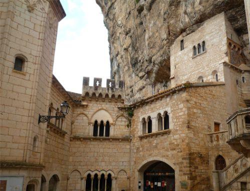 Interior de Rocamadur
