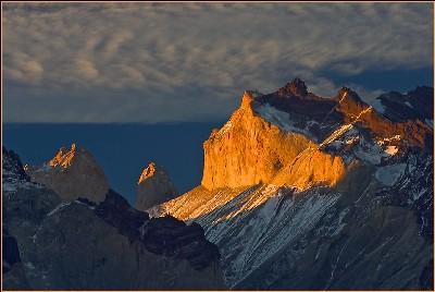 Los cuernos del Paine en Chile