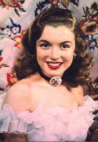 Marilyn Monroe de joven