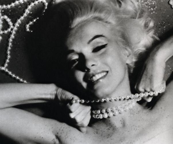 Marilyn and diamonds