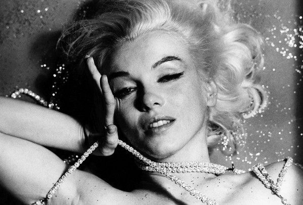 Marilyn soñando entre diamantes