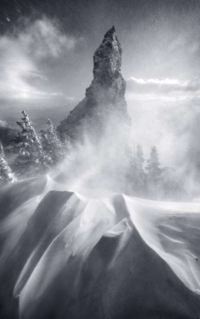 Montaña de Hierro en Oregón