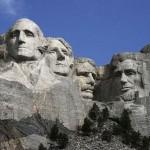La construcción del Monte Rushmore