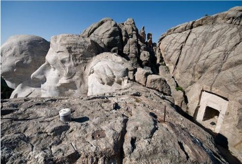 Monte Rushmore - cámara secreta