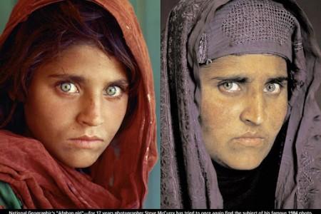 Fotos National Geographic: la niña afgana