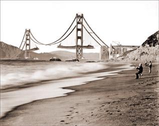 Nacimiento del Golden Gate
