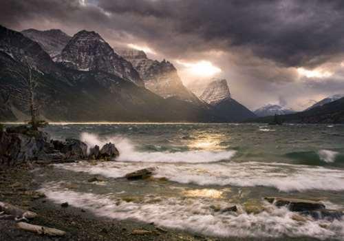 Parque de los Glaciares de Montana