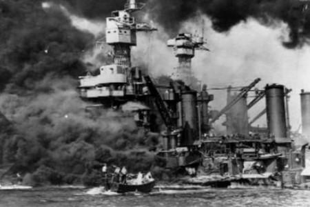 Fotos Historicas, El ataque a Pearl Harbor