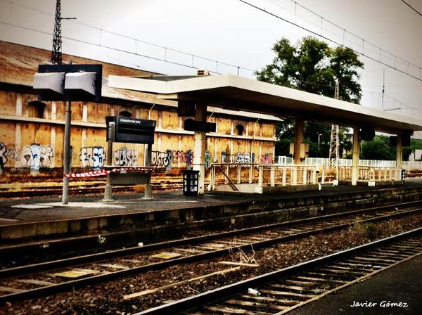 Graffiti en la estación