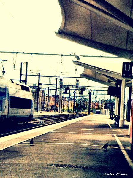 Estación en Perpignan