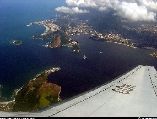 Rio de Janeiro desde el aire