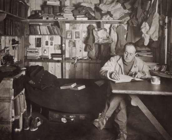 Robert Falcon Scott Cape Evans October 1911