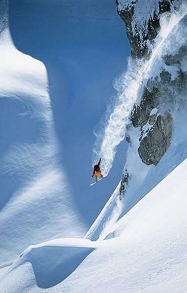 Salto de nieve