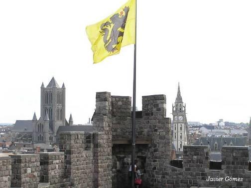 Torre del castillo de Gravensteen